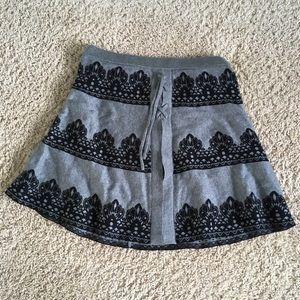 Woman's Sweater Skirt